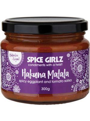 SPICE GIRLZ Hakuna Matata Spicy Eggplant & Tomato Salsa 300g