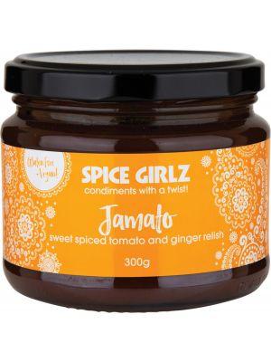 SPICE GIRLZ Jamato Sweet Spiced Tomato & Ginger Relish 300g