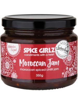 SPICE GIRLZ Moroccan Jam Moroccan Spiced Chilli Jam 350g