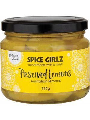 SPICE GIRLZ Preserved Lemons Australian Lemons 350g