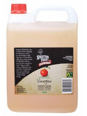 SPREYTON FRESH Apple Cider Vinegar Unpasteurised & Unfiltered 5L