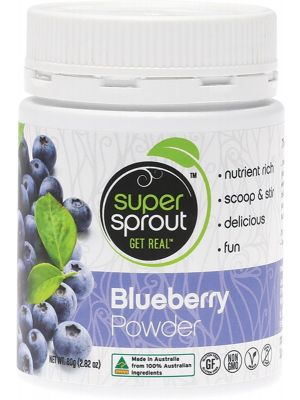 SUPER SPROUT Blueberry Powder 80g