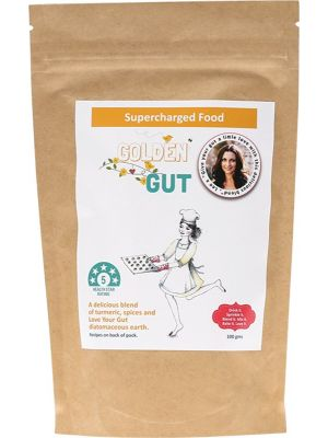 SUPERCHARGED FOOD Golden Gut Powder 100g