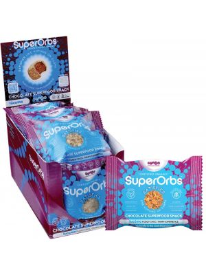 SUPERORBS Chocolate Superfood Snack Lucuma (Box Of 9) 9x40g