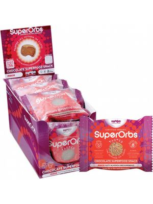SUPERORBS Chocolate Superfood Snack Maca (Box Of 9) 9x40g
