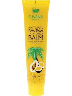 SUVANA Lip Balm Paw Paw & Coconut 25g