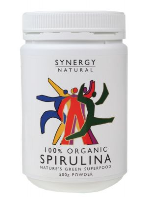 Synergy Organic Spirulina Powder 500g