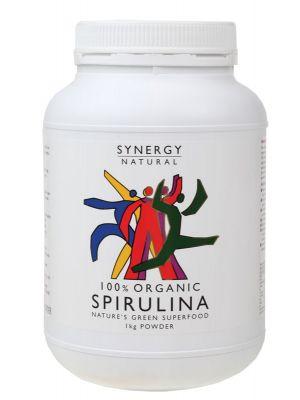 Synergy Organic Spirulina Powder 1kg