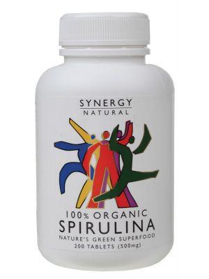 Synergy Organic Spirulina Tablets 200 tabs