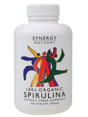 Synergy Organic Spirulina Tablets 500 tabs