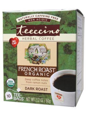 Teeccino French Roast Coffee Bags 10 bags