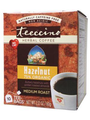 Teeccino Hazelnut Coffee Bags 10 bags