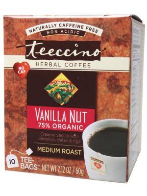 Teeccino Vanilla Coffee Bags 10 bags