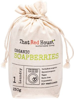 THAT RED HOUSE Organic Soapberries 90+ Washloads 250g