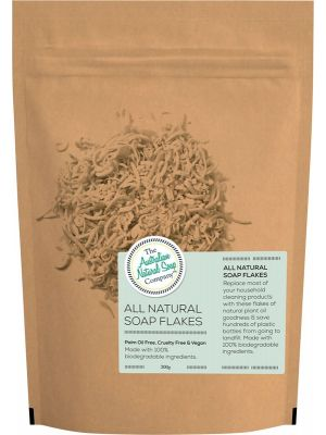 THE AUSTRALIAN NATURAL SOAP CO All Natural Soap Flakes 300g