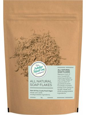 THE AUSTRALIAN NATURAL SOAP CO All Natural Soap Flakes 1kg