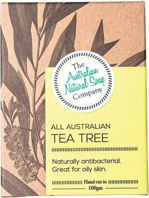 THE AUSTRALIAN NATURAL SOAP CO Tea Tree 100g