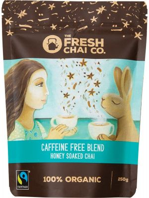 THE FRESH CHAI CO Caffeine Free Blend Honey Soaked Chai 250g