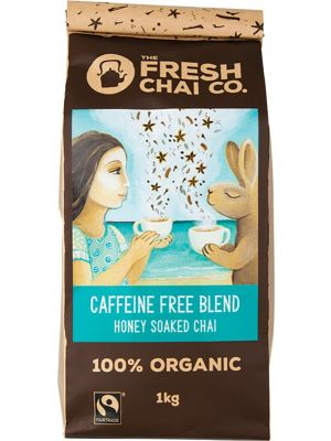 THE FRESH CHAI CO Caffeine Free Blend Honey Soaked Chai 1kg