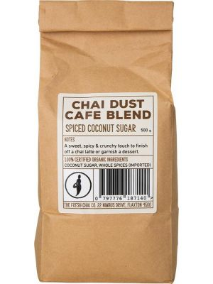 THE FRESH CHAI CO Chai Dust Café Blend Spiced Coconut Sugar 500g