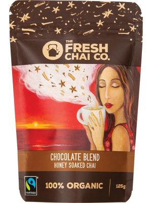 THE FRESH CHAI CO Chocolate Blend Honey Soaked Chai 125g