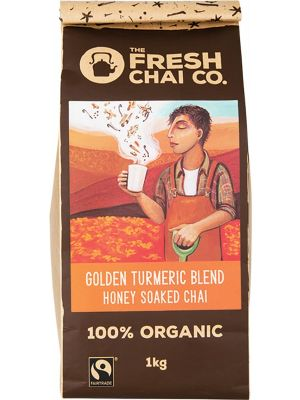 THE FRESH CHAI CO Golden Turmeric Blend Honey Soaked Chai 1kg