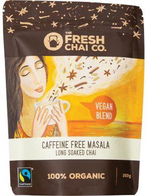 THE FRESH CHAI CO Vegan Caffeine Free Masala Long Soaked Chai 250g