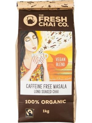 THE FRESH CHAI CO Vegan Caffeine Free Masala Long Soaked Chai 1kg