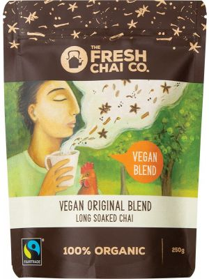 THE FRESH CHAI CO Vegan Original Blend Long Soaked Chai 250g