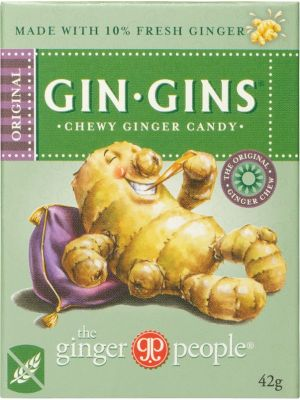 THE GINGER PEOPLE Ginger Candy Chewy Original 42g