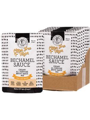 THE GLUTEN FREE FOOD CO Bechamel Sauce All Purpose White Sauce Mix 8x100g
