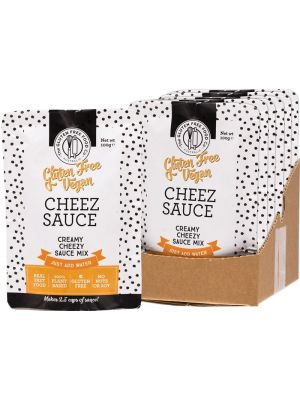 THE GLUTEN FREE FOOD CO Cheez Sauce Cheezy Sauce Mix 8x100g