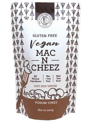 THE GLUTEN FREE FOOD CO Mac N Cheez Porcini Cheez 200g