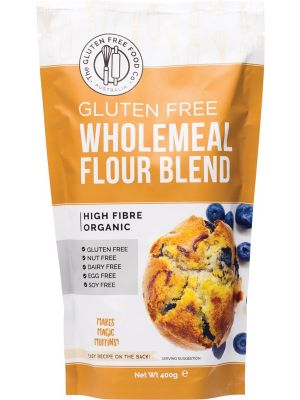 THE GLUTEN FREE FOOD CO Wholemeal Flour Blend Mix 400g