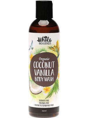 THE WHOLE BOODIES Body Wash Coconut Vanilla 250ml