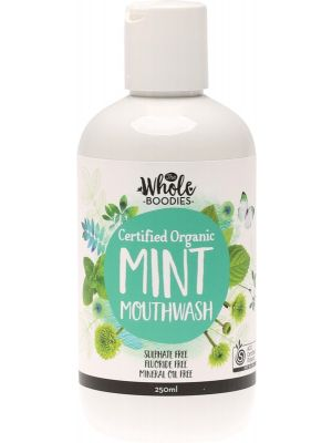 THE WHOLE BOODIES Mouthwash Mint 250ml