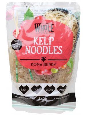 THE WHOLE FOODIES Kelp Noodles Kona Berry 340g