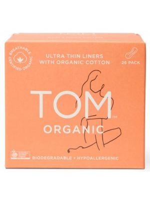 TOM ORGANIC Panty Liners (Wrapped) 26