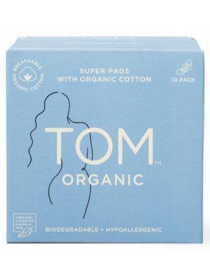 TOM Organic Pads Ultra Thin Night 10