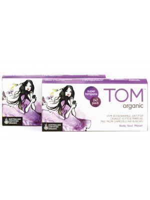TOM Organic Tampons Super 14