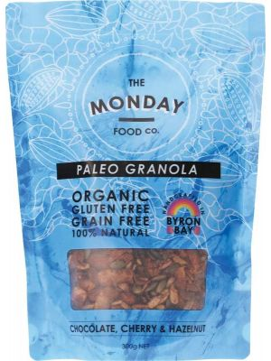The Monday Food Co. Paleo Granola Chocolate, Cherry & Hazelnut 300g