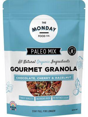 The Monday Food Co. Paleo Granola Chocolate, Cherry & Hazelnut 800g