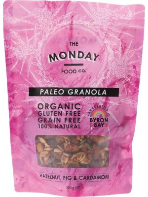 MONDAY FOOD CO. Granola Hazelnut, Fig & Cardamon 300g