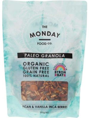 MONDAY FOOD CO. Granola Pecan, Apricot & Vanilla 300g