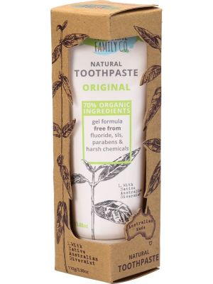 The Natural Family Co Natural Toothpaste Original 110g