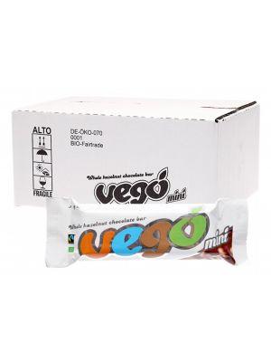 VEGO Whole Hazelnut Chocolate Bar Mini 30x65g