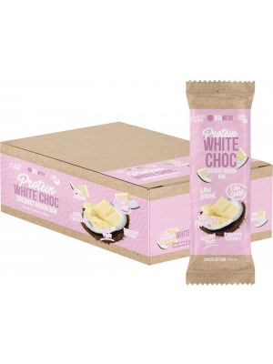 VITAWERX Protein White Chocolate Bar Coconut Rough 12x35g