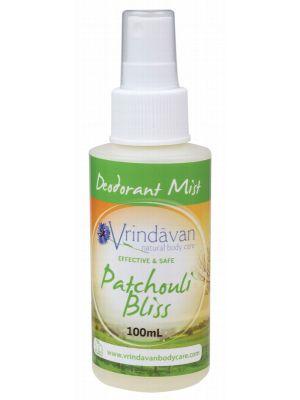 Vrindavan Patchouli Deod. Mist 100ml