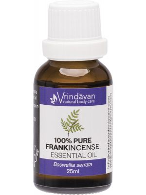 VRINDAVAN Essential Oil (100%) Frankincense 25ml