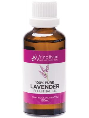 VRINDAVAN Essential Oil (100%) Lavender 50ml